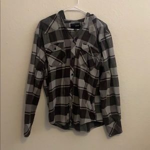 Hooded Hurley Flannel